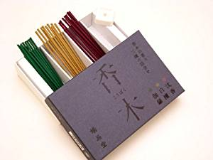 画像: 鳩居堂【香木の香り3種セット】 伽羅・沈香・白檀