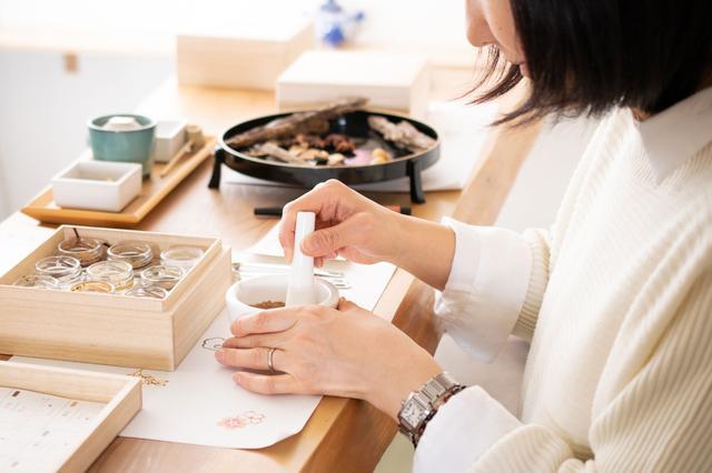 画像: お香づくり体験 | Juttoku.