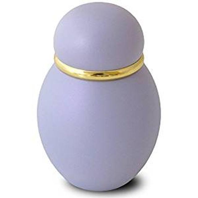 画像: 【携帯できるミニ骨壷】パステル・パープル 納骨袋付き