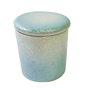 画像: ミニ骨壷 2寸 やわらぎ ラスターブルー