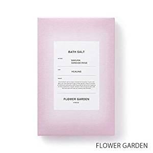 画像: 【薫玉堂】 バスソルト FLOWER GARDEN 花の庭 ピンク 和 桜の香り