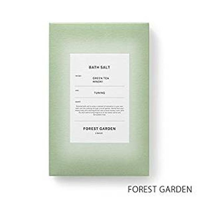 画像: 【薫玉堂】 バスソルト FOREST GARDEN 森の庭 緑 和 宇治茶の香り