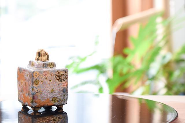 画像: 3号豆香炉 金花詰 - Juttoku.(ジュットク) オンラインショップ
