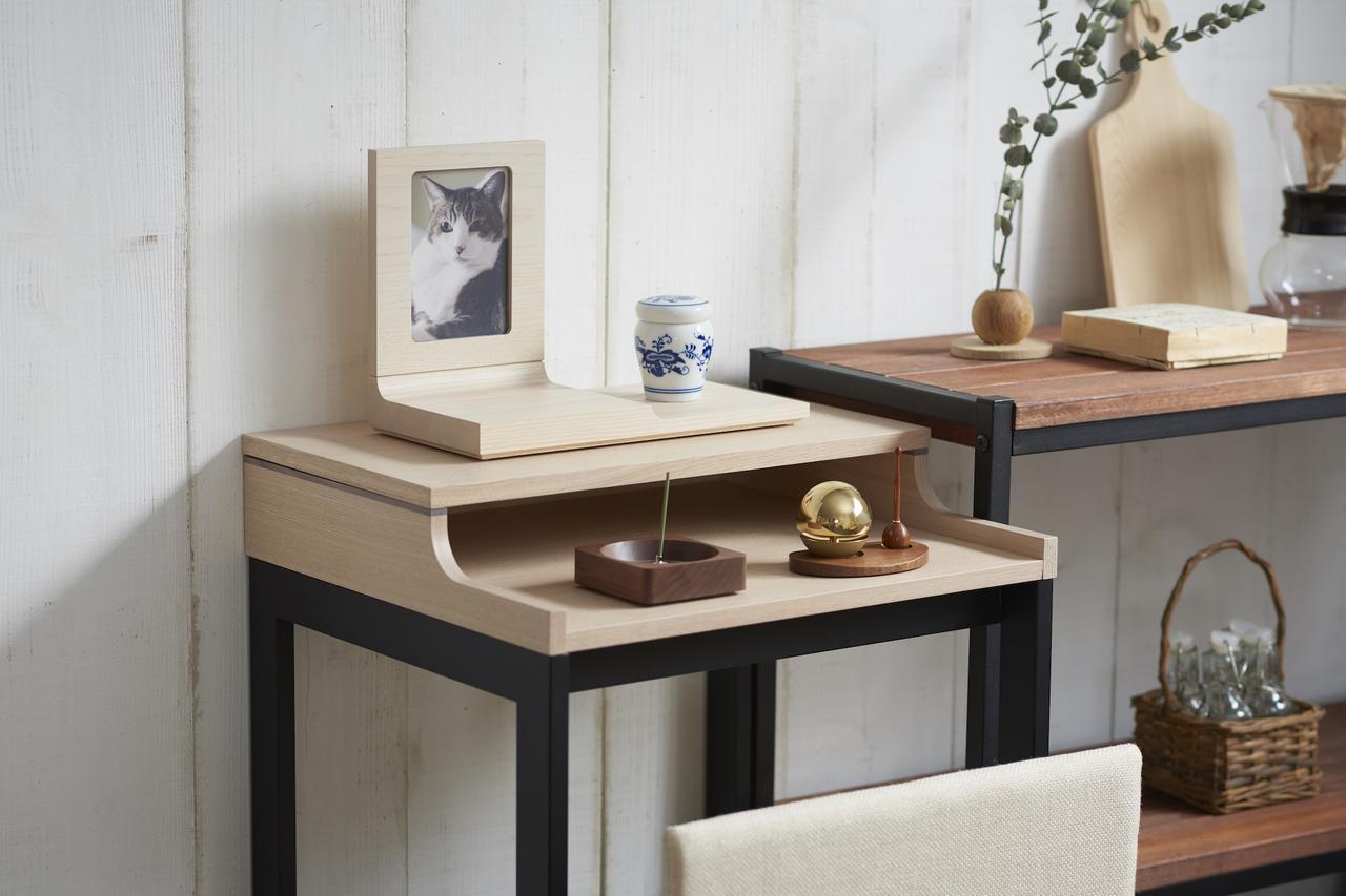 画像3: 若林佛具製作所のペット用仏壇「MANAZASHI」