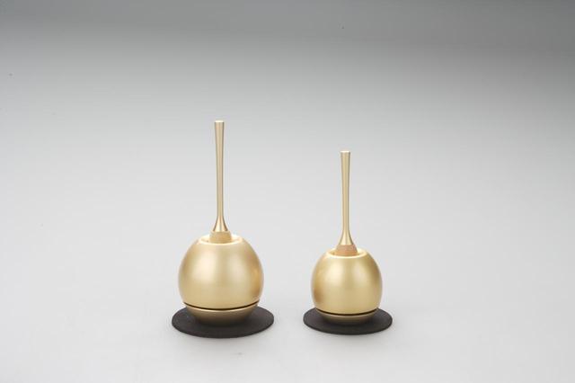 画像: 左:Cherin(金色) 右:Cherin mini(金色)