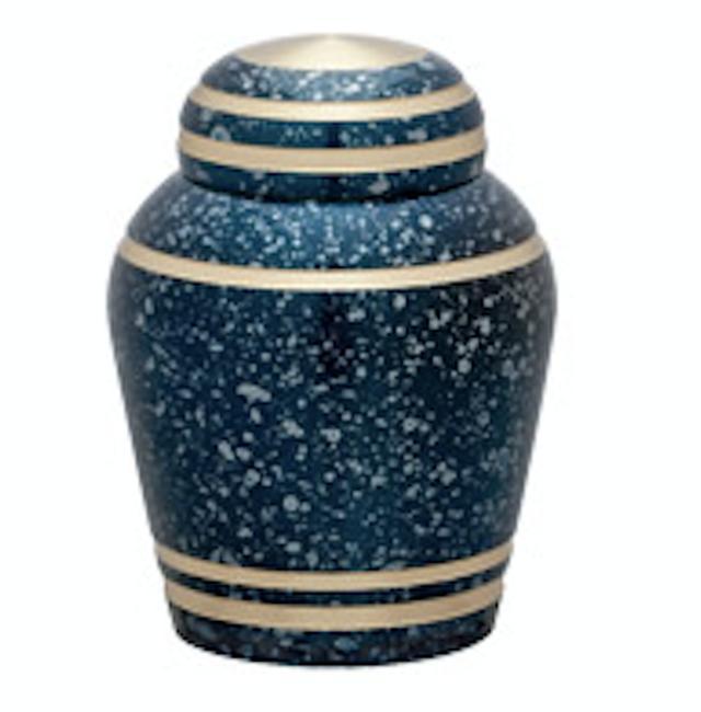 画像1: シンプルモダン - やわらかな曲線と落ち着いた佇まいの骨壷