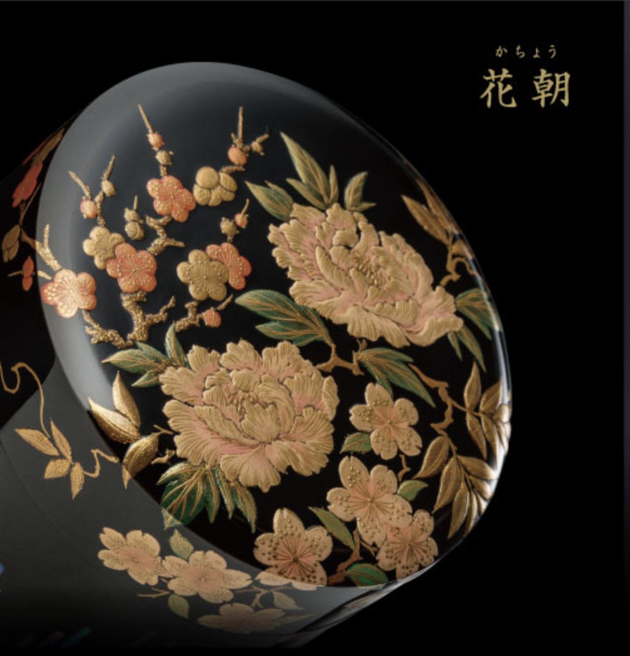 画像1: きわみ絢爛  - 大切な人への想いを、気品ある輝きを放つ山中漆器の骨壷に