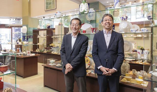 画像: 写真左から、田崎文博さん、北川淳さん