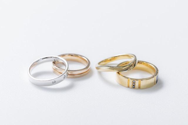 画像: ダイアモンドのリング。デザインは豊富な種類から選べる
