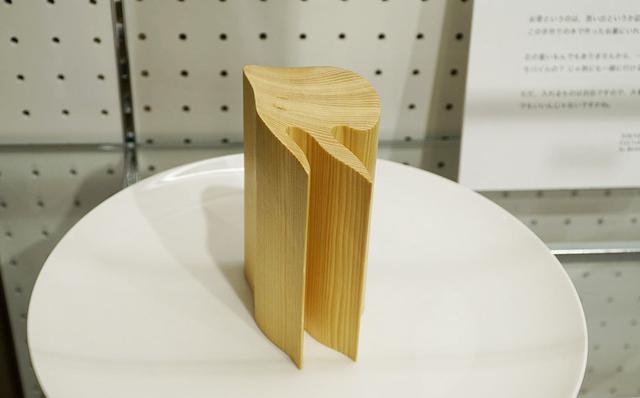 画像: オーダーで作られたという尖ったカッコいい新作。
