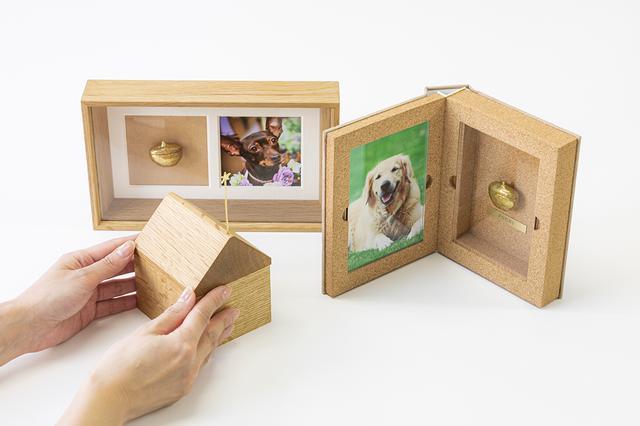 画像: Recolleのラインアップ。写真奥から時計回りに、FRAME、BOOK、HOUSE