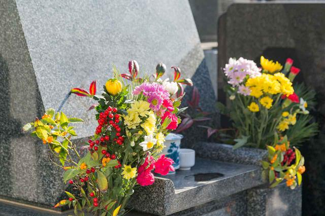画像: お墓参りのお供え方法(花、お酒、お菓子)を1071名に聞いてみました