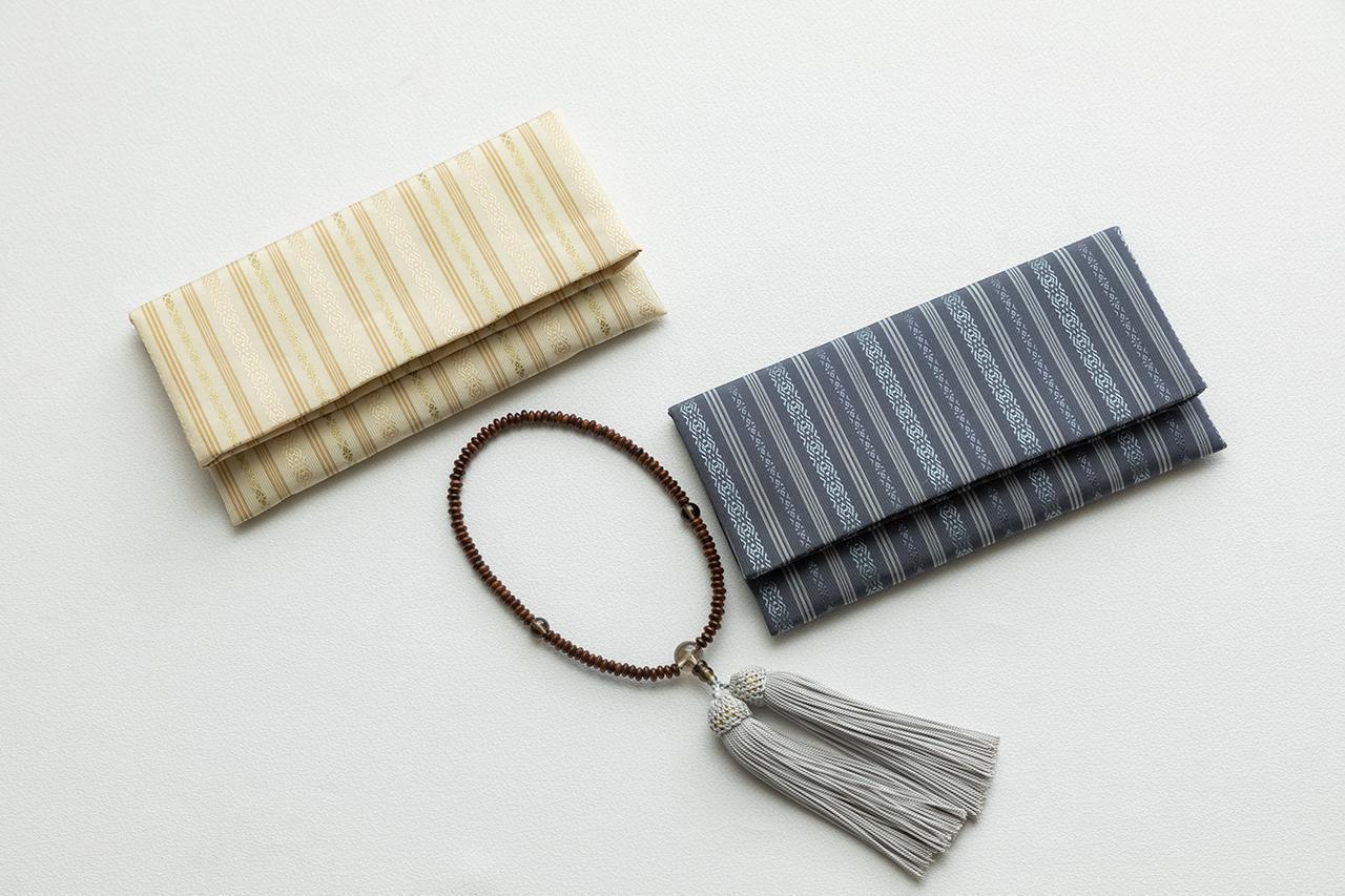 画像: 献上博多織 念珠袋