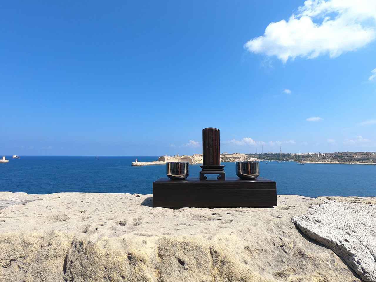 画像: 旅する仏壇 - 手提げトートバッグで一緒に海へお散歩/株式会社神原