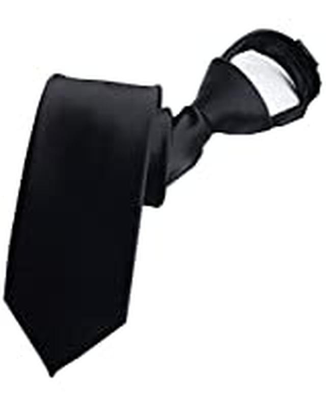 画像: ネクタイ 葬式 ワンタッチ