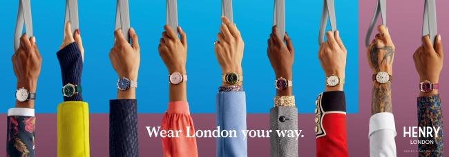 画像1: 【数量限定】英国の腕時計ブランド「ヘンリーロンドン」がベイクルーズグループ設立40周年記念モデル「HENRY LONDON×HIROB スペシャルコラボウォッチ」を発売!