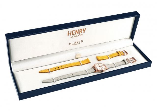 画像3: 【数量限定】英国の腕時計ブランド「ヘンリーロンドン」がベイクルーズグループ設立40周年記念モデル「HENRY LONDON×HIROB スペシャルコラボウォッチ」を発売!