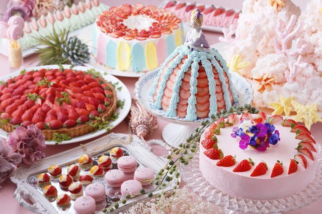 画像: 琵琶湖ホテル ~アクアリウムを表現した新しい世界観でいちごスイーツをたのしむ~ Sweets Buffet ~Strawberry Aquarium~
