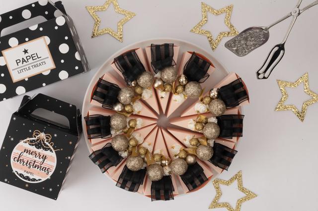 画像5: 銀座「PAPEL」のクリスマス限定仕様 「ケーキ型ボックス スイーツ」