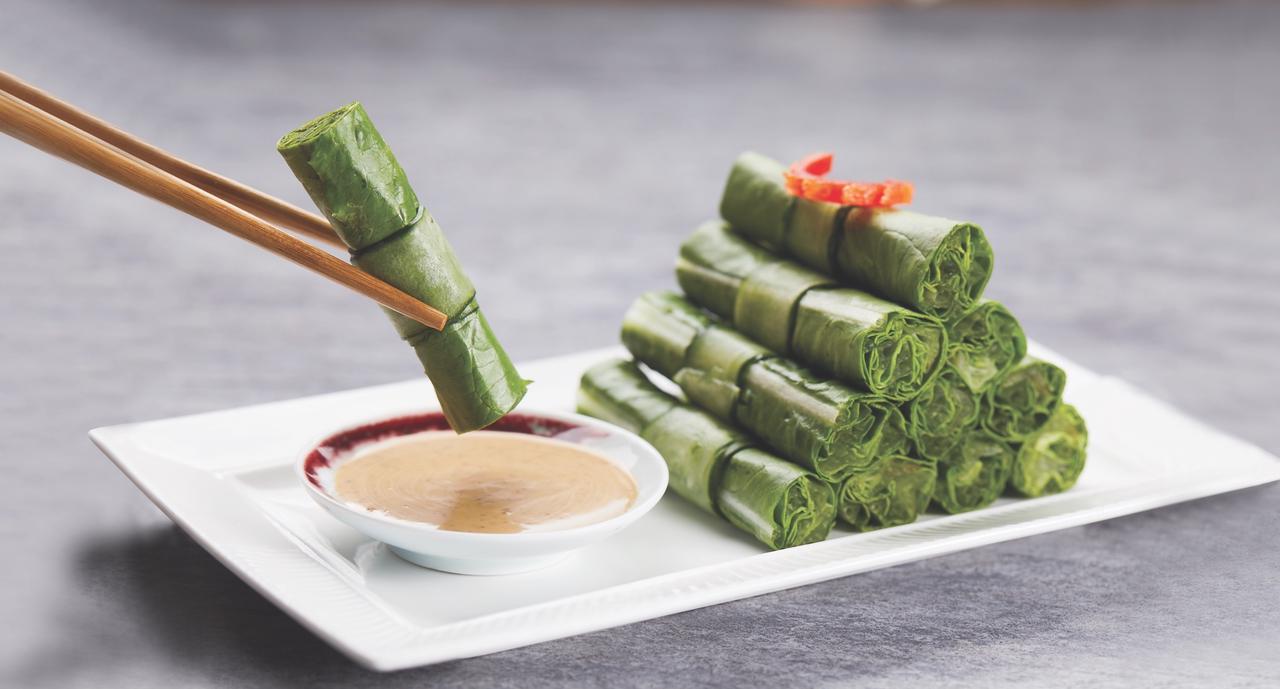 画像1: 珍しい野菜料理が女性などに大人気!