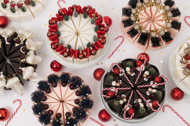 画像1: 銀座「PAPEL」のクリスマス限定仕様 「ケーキ型ボックス スイーツ」