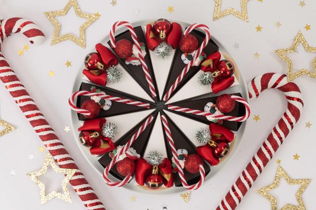 画像3: 銀座「PAPEL」のクリスマス限定仕様 「ケーキ型ボックス スイーツ」