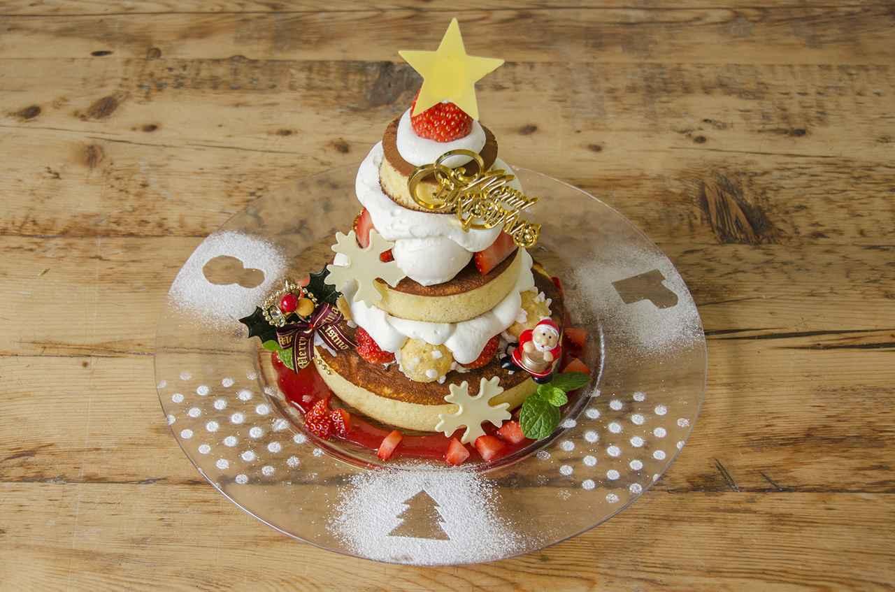 画像1: 「カフェ アクイーユ」からクリスマスパンケーキが登場!