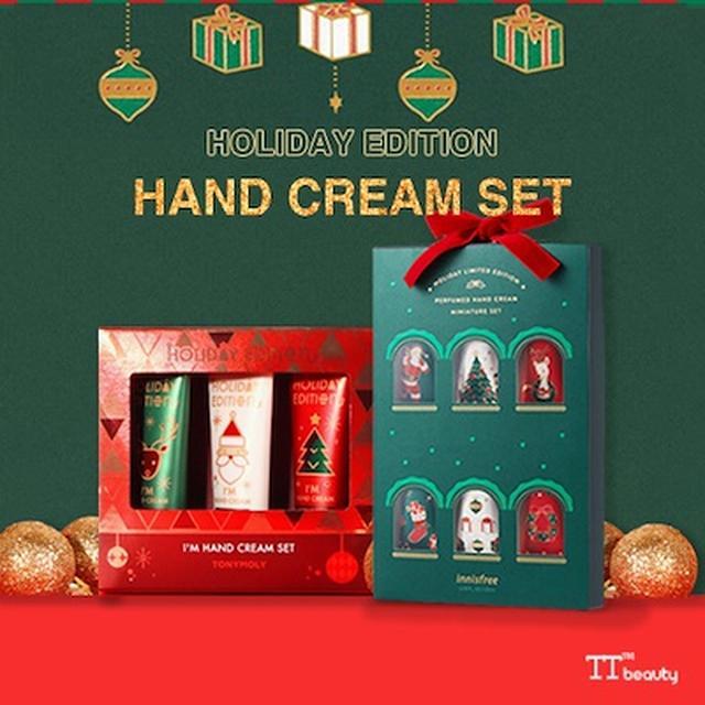 画像: [Qoo10] トニーモリー : クリスマスコフレハンドクリーム[... : ヘア・ボディ・ネイル・香水