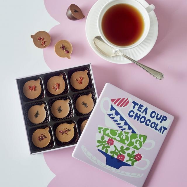 画像: 紅茶フレーバーにこだわったアフタヌーンティーオリジナルのチョコレート
