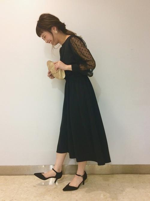 画像: hikari(apart by lowrys /梅田ヘップファイブ店) apart by lowrysのドレスを使ったコーディネート - WEAR