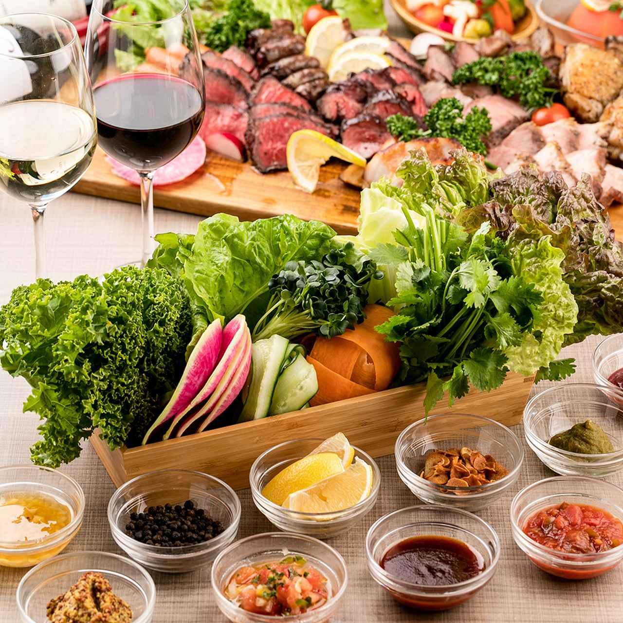 画像6: 新感覚シュラスコバル 『個室 塊肉×農園野菜 Nick&Noojoo』 が新橋にグランドオープン!