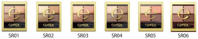 画像: SR01 ベージュブラウン 使いやすさNo.1!誰にでも似合う美人カラー SR02 リアルブラウン スッキリとした印象のベーシックなブラウン SR03 ロイヤルブラウン ほんのりピンクニュアンスで優しげな目元に SR04 スモーキーブラウン グレイッシュなブラウンでクールな大人EYEに SR05 ウォームブラウン まろやかなオレンジベージュでこなれEYEに SR06 センシュアルブラウン 透明感のあるバーガンディで色っぽい目元に