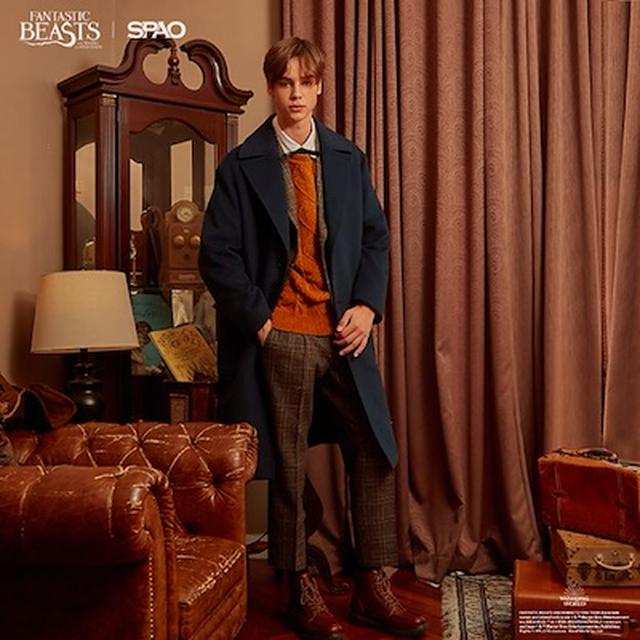 画像: 【SPAO X HARRY POTTER】 Fantastic Beasts and Where to Find Them NEWT COAT SPJW84VM97