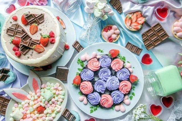 画像1: 大満足の食べ放題ランチビュッフェ≫「いちごとチョコのハートフルビュッフェ」開催!