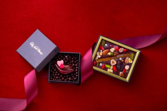 画像: ホテルニューオータニ大阪限定!オリジナルの『ラブ キス』と『パレット ショコラ』