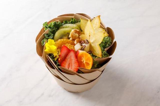 画像: ハーブとフルーツを使ったお洒落でおいしい美活サラダボウル 「BIKATSU SALAD キッシュ・ロレーヌ」