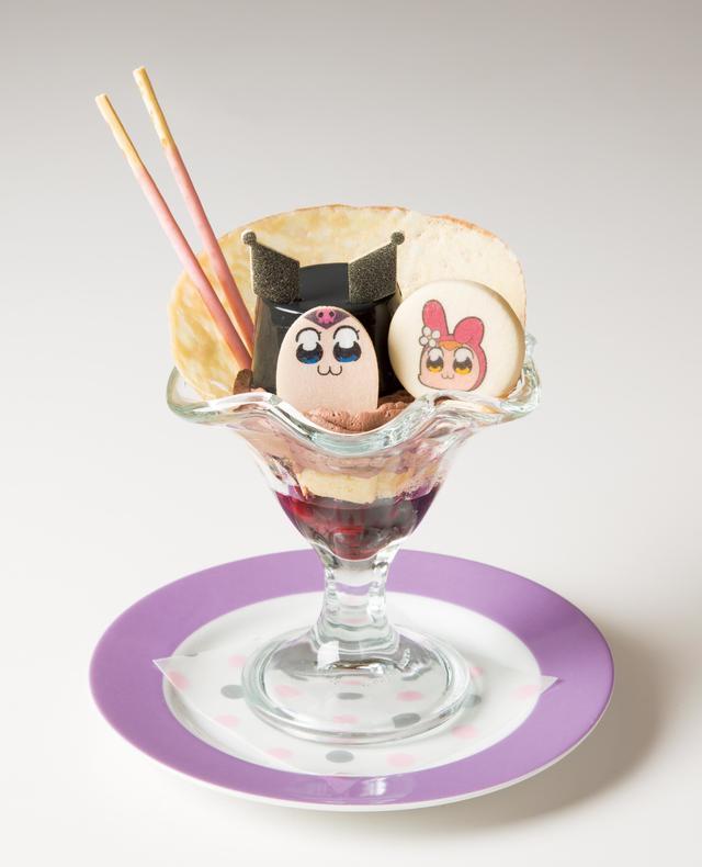 画像2: ポプテピピック×サンリオキャラクターズの コラボカフェが期間限定でオープン