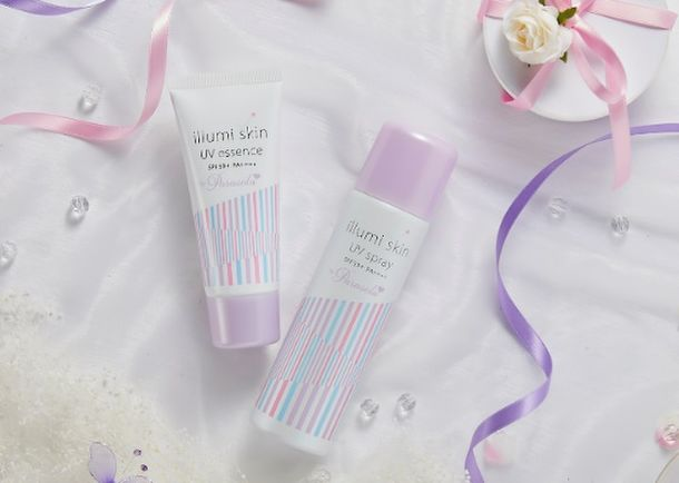 画像: 女の子をかわいくする日焼け止めブランド「Parasola」から 瞬間白肌UV製品「イルミスキン」リニューアル!
