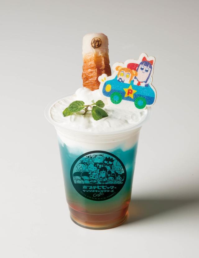 画像5: ポプテピピック×サンリオキャラクターズの コラボカフェが期間限定でオープン