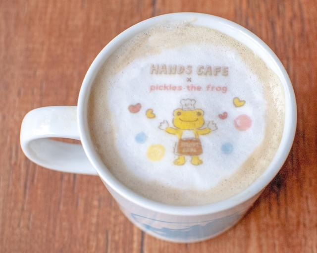 画像6: つぶらな瞳と愛らしい笑顔で、見て食べて癒される 『かえるのピクルス×ハンズカフェ』