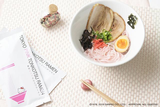 画像2: 東京発 めんもスープもPINKのとんこつラーメン!