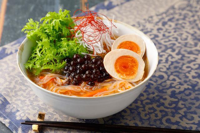 画像2: 寿司、ラーメン…定番人気のメニューもタピオカで新食感!