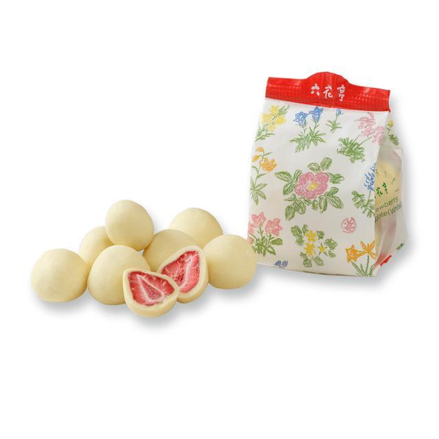 画像: ストロベリーチョコホワイト袋入(80g) | 六花亭