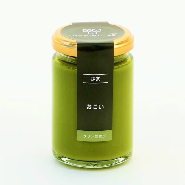 画像: 最高級の抹茶プリン『おこい』単品-プリン研究所 PUDDINGLAB