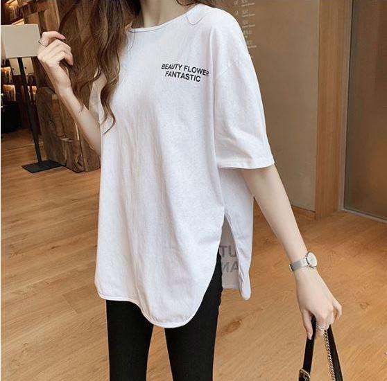 画像1: Qoo10のトレンド調査!夏の定番アイテムだからこだわりたい!オーバーサイズがかわいい「Tシャツ」が人気