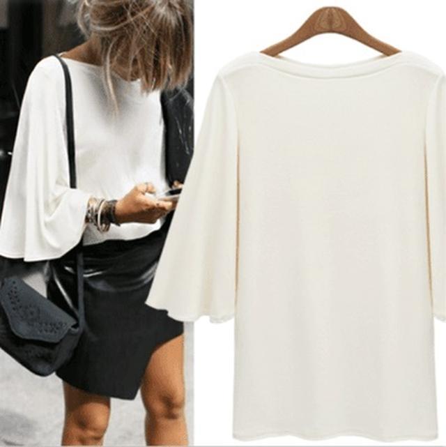 画像3: Qoo10のトレンド調査!夏の定番アイテムだからこだわりたい!オーバーサイズがかわいい「Tシャツ」が人気