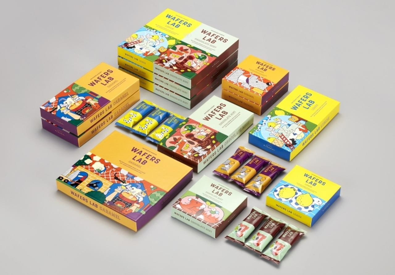 画像: 【東京土産】チョコミントやレモン、冷やしてCOOLに楽しむ!大人のウエハースバー『WAFERS LAB』新発売