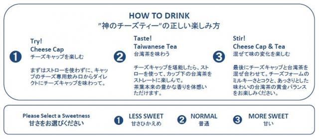 画像2: トッピング/飲み方紹介