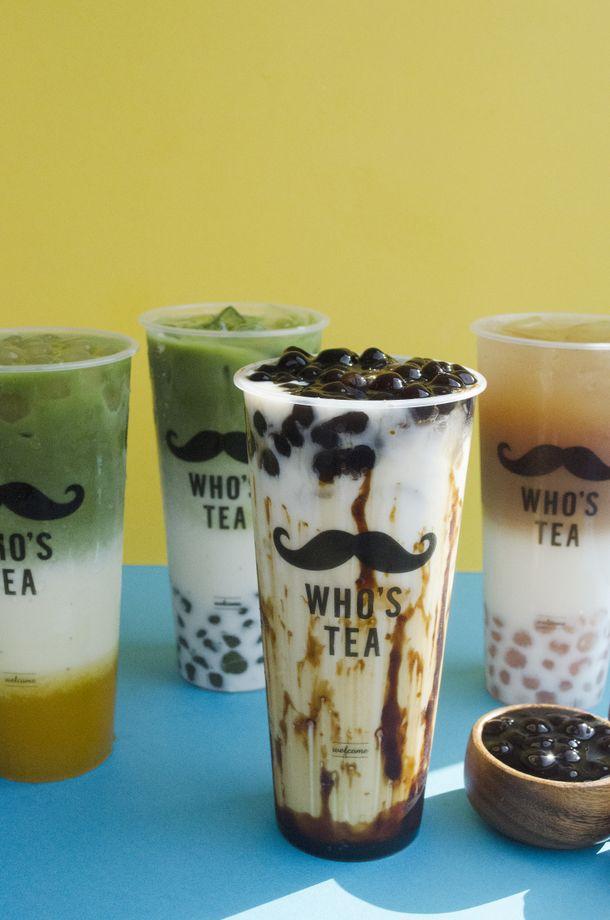 画像1: 日本初上陸!台湾発 タピオカ専門店『WHO'S TEA』