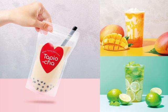 画像1: 『Tapio-cha(台湾茶・タピオチャ)』初の路面店& 中華街初のパックスタイルで提供